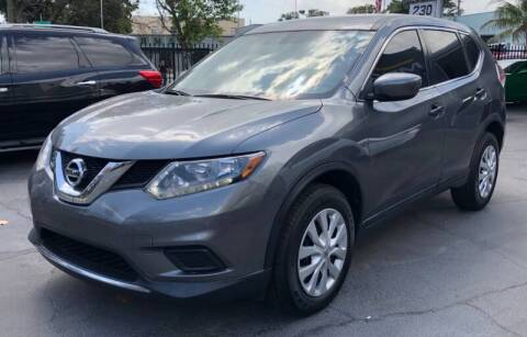 2016 Nissan Rogue for sale at Meru Motors in Hollywood FL