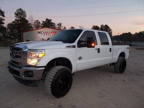 2012 Ford F-250 Super Duty for sale at RED ALLEN DIESEL in Anacoco LA