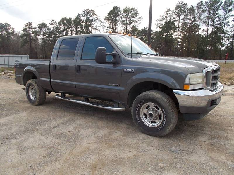 2002 Ford F-250 Super Duty for sale at RED ALLEN DIESEL in Anacoco LA
