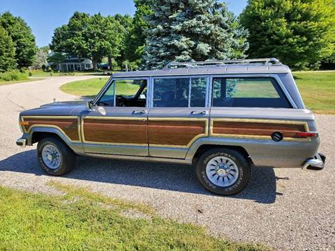 Jeep Grand Wagoneer For Sale >> 1988 Jeep Grand Wagoneer For Sale In Saugatuck Mi