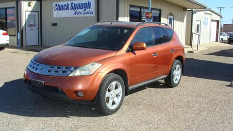 2003 Nissan Murano for sale at Chuck Spaugh Auto Sales in Lubbock TX