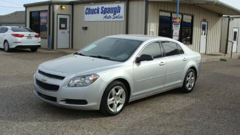 2012 Chevrolet Malibu for sale at Chuck Spaugh Auto Sales in Lubbock TX