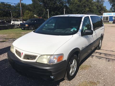 2004 Pontiac Montana for sale in Houston, TX