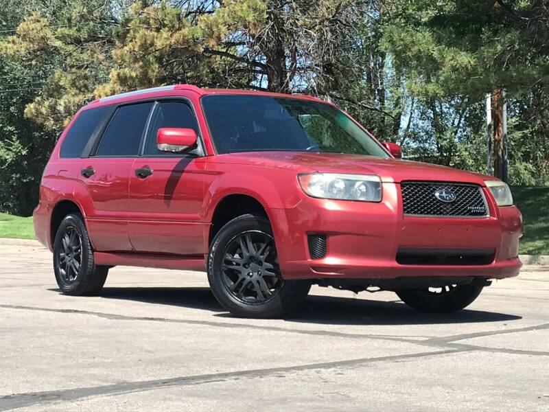 2008 Subaru Forester for sale at Used Cars and Trucks For Less in Millcreek UT