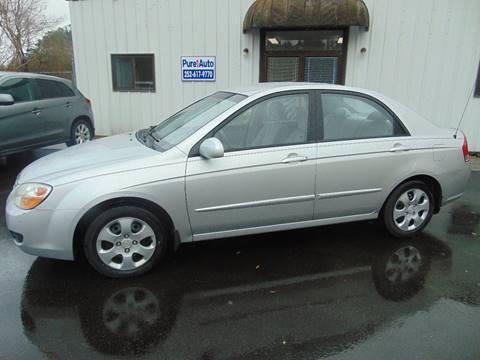 2008 Kia Spectra for sale at Pure 1 Auto in New Bern NC