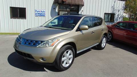 2005 Nissan Murano for sale at Pure 1 Auto in New Bern NC