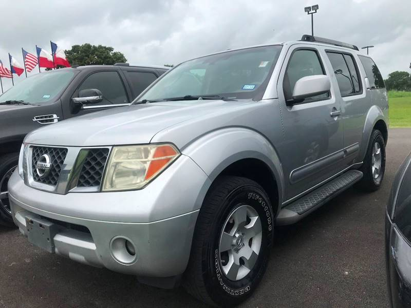 Nice 2006 Nissan Pathfinder For Sale At Captain Motorcars In Hempstead TX