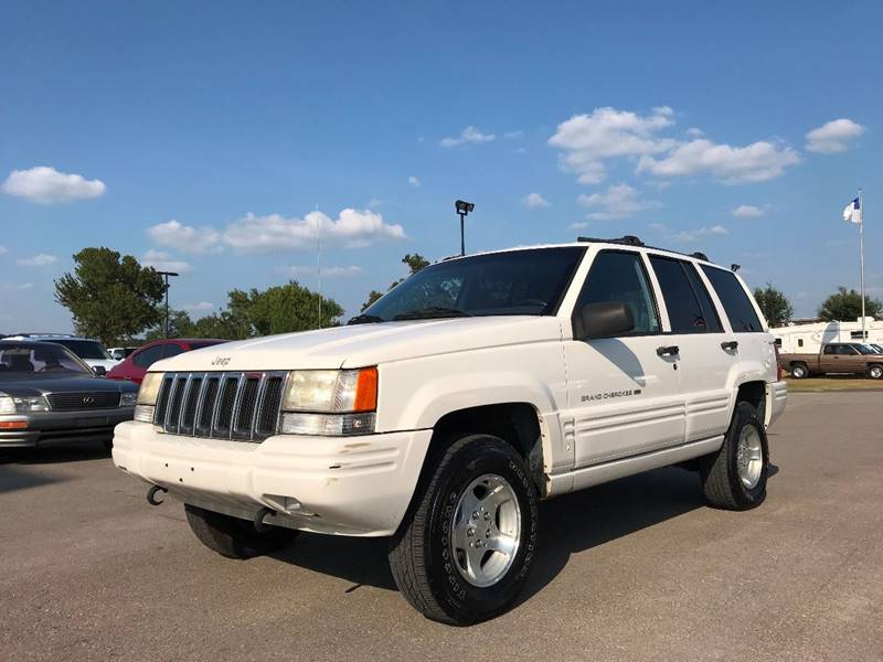 1998 Jeep Grand Cherokee For Sale At Captain Motorcars In Hempstead TX