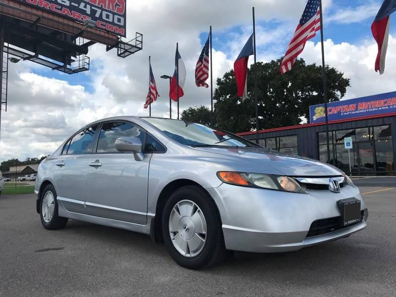 2007 Honda Civic For Sale At Captain Motorcars In Hempstead TX