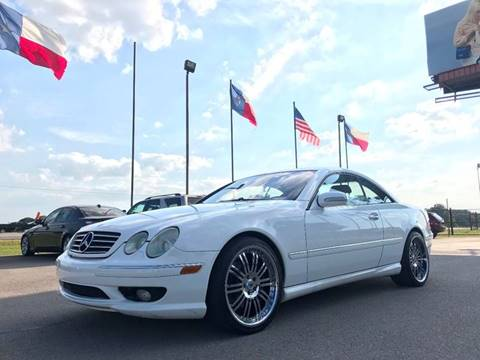 2001 Mercedes-Benz CL-Class for sale in Hempstead, TX