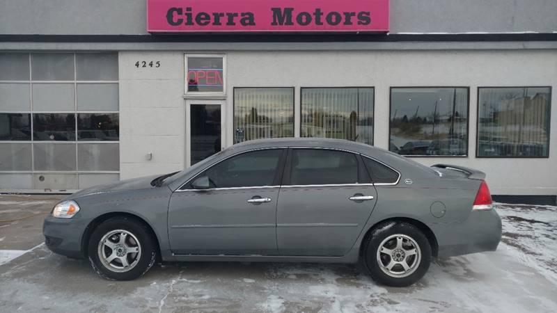 2008 Chevrolet Impala For Sale At Cierra Motors In Great Falls MT