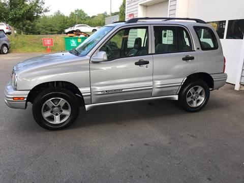 2002 Chevrolet Tracker for sale in Wolcott, CT