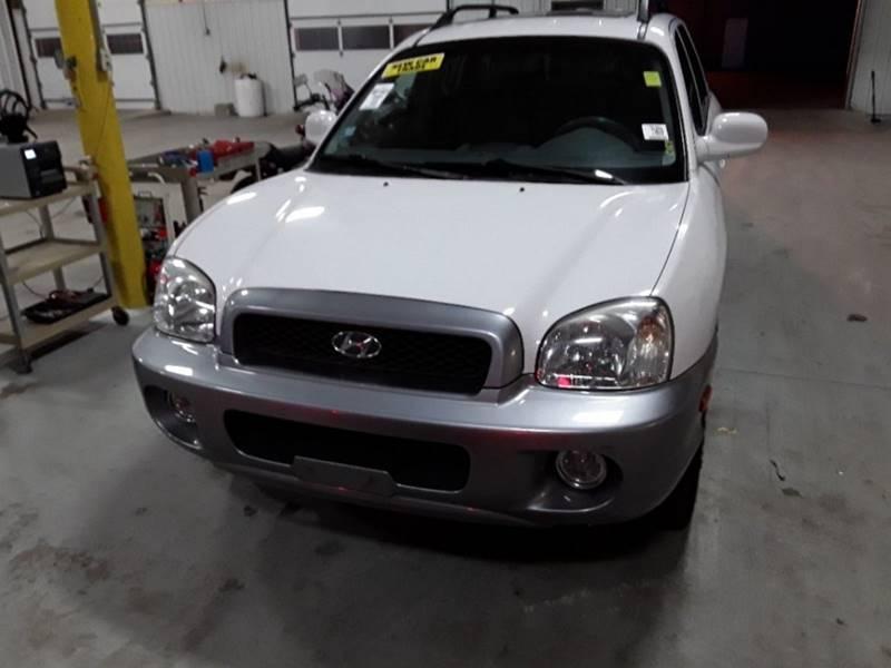 2004 Hyundai Santa Fe For Sale At Finishline Motorsport In Chicago IL
