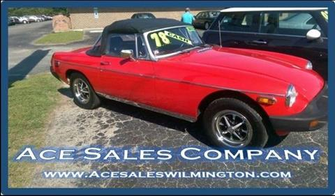 1978 MG MGB Roaddster for sale in Wilmington, NC