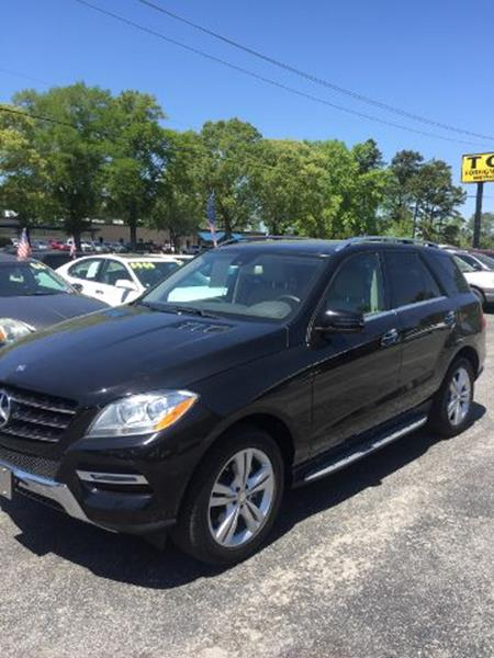 2013 Mercedes Benz M Class For Sale At Ace Sales Company In Wilmington NC