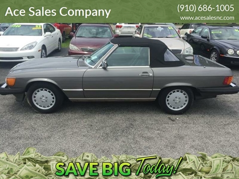 Amazing 1986 Mercedes Benz 560 Class For Sale In Wilmington, NC