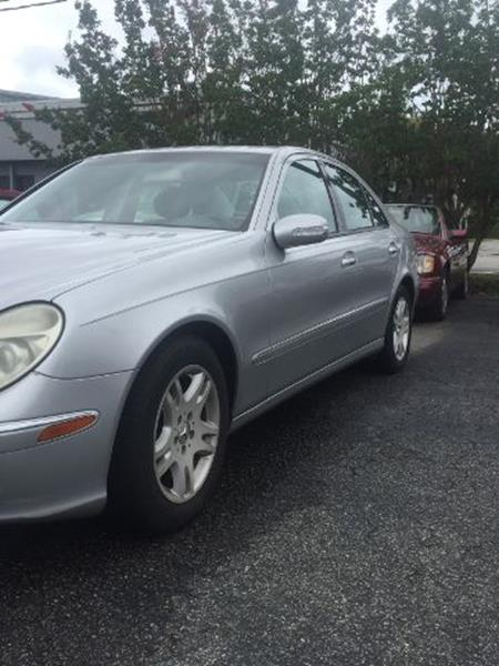 2003 Mercedes Benz E Class For Sale At Ace Sales Company In Wilmington NC