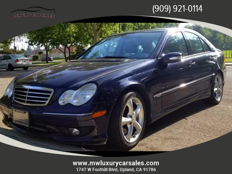 2006 Mercedes Benz C Class For Sale At LUXURY CAR SALES In Upland CA