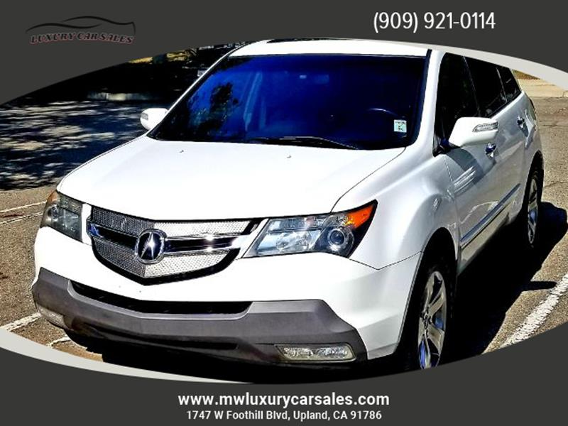 Acura MDX SHAWD WSport In Upland CA LUXURY CAR SALES - Acura mdx 2007 for sale