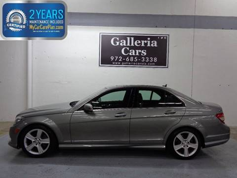 2011 mercedes benz c class for sale in dallas tx for Mercedes benz for sale in dallas tx