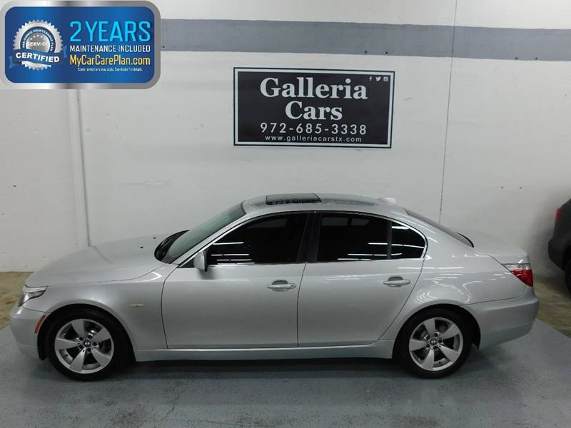 2009 BMW 5 Series For Sale At Galleria Cars In Dallas TX