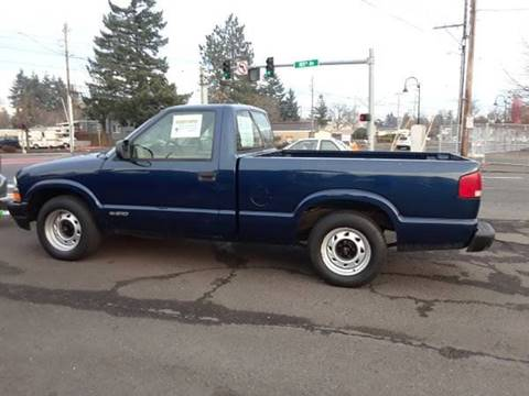 Used 2000 Chevrolet S-10 For Sale in Oregon - Carsforsale.com