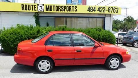 2002 Chevrolet Prizm for sale in Broomall, PA