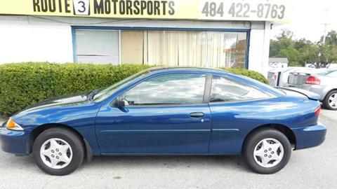 2002 Chevrolet Cavalier for sale in Broomall, PA
