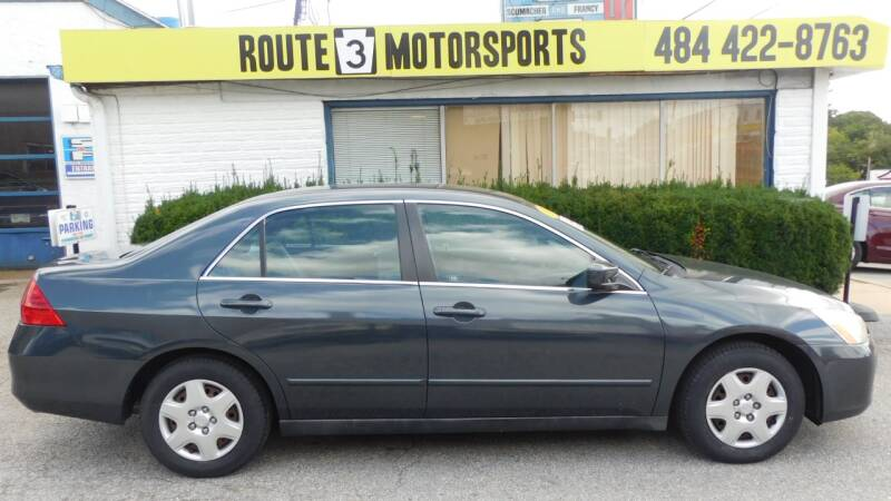 2007 Honda Accord for sale at Route 3 Motors in Broomall PA