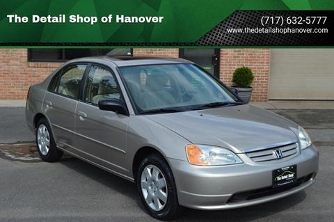 2002 Honda Civic for sale in Hanover, PA