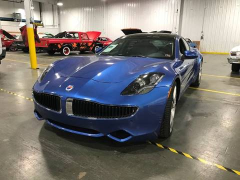 2012 Fisker Karma for sale at STUDIO HOTRODS in Richmond IL