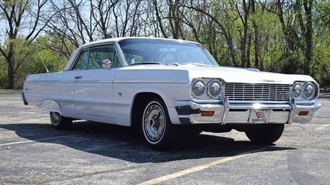 1964 Chevrolet Impala for sale at STUDIO HOTRODS in Richmond IL