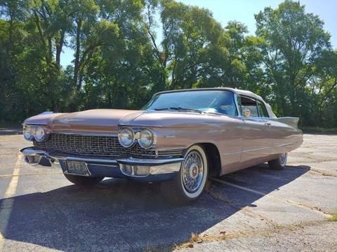 1960 Cadillac Series 62 for sale at STUDIO HOTRODS in Richmond IL
