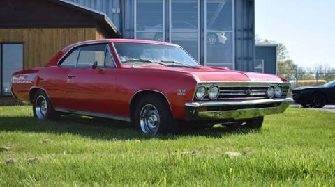 1967 Chevrolet Chevelle for sale at STUDIO HOTRODS in Richmond IL