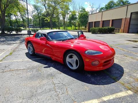 1992 Dodge Viper RT/10 for sale at STUDIO HOTRODS in Richmond IL