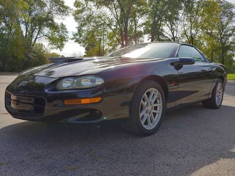 2001 Chevrolet Camaro for sale at STUDIO HOTRODS in Richmond IL