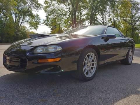 2001 Chevrolet Camaro Z28 for sale at STUDIO HOTRODS in Richmond IL