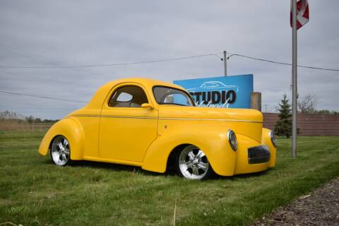1941 Willys Coupe for sale at STUDIO HOTRODS in Richmond IL