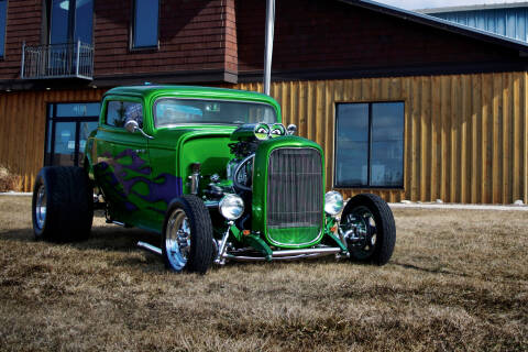 1932 Ford Coupe for sale at STUDIO HOTRODS in Richmond IL