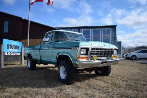 1978 Ford F-150 for sale at STUDIO HOTRODS in Richmond IL