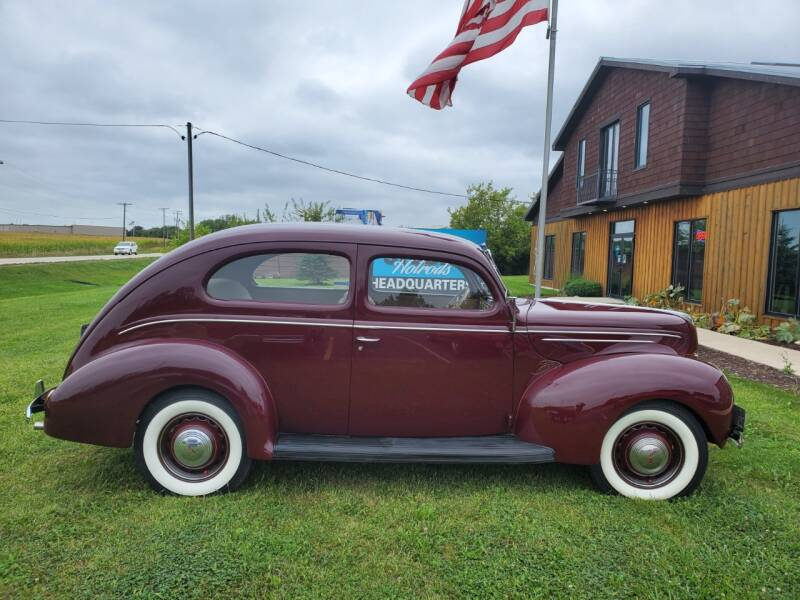 1939 Ford Deluxe for sale at STUDIO HOTRODS in Richmond IL
