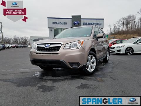 2015 Subaru Forester for sale in Johnstown, PA