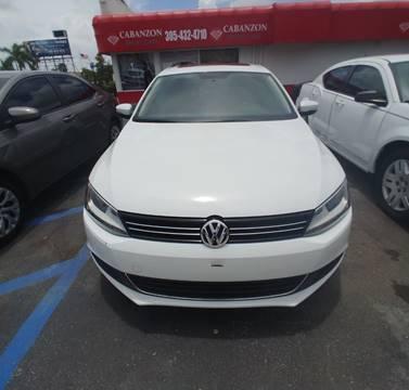 2014 Volkswagen Jetta for sale in Hialeah, FL