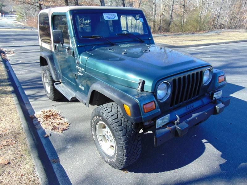 2001 Jeep Wrangler Sport In Waterbury CT - LA Motors