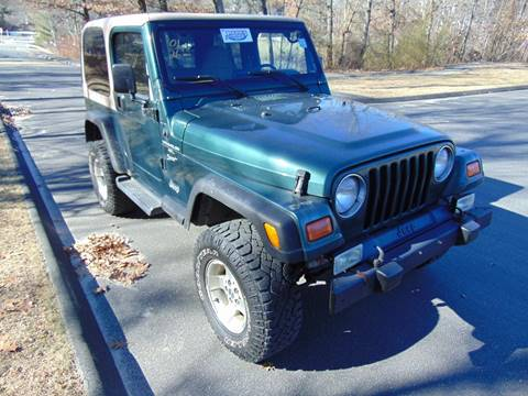 used 2001 jeep wrangler for sale in connecticut. Black Bedroom Furniture Sets. Home Design Ideas