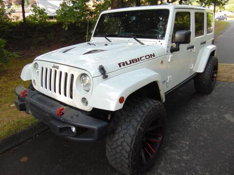 2017 Jeep Wrangler Unlimited for sale at LA Motors in Waterbury CT