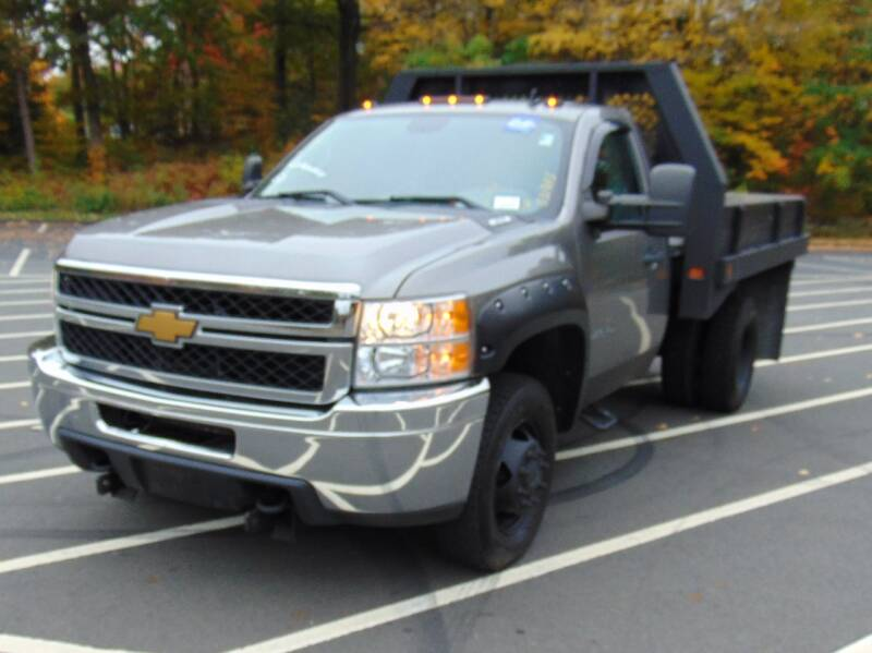 2013 Chevrolet Silverado 3500HD CC for sale at LA Motors in Waterbury CT