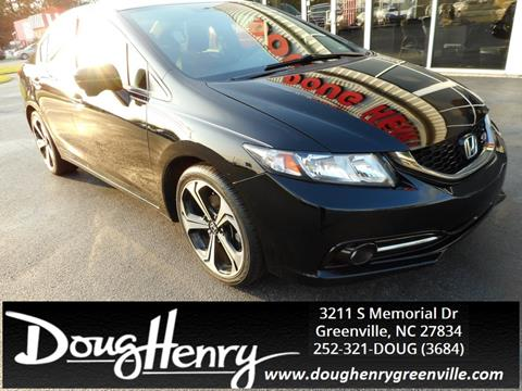 Beautiful 2015 Honda Civic For Sale In Greenville, NC