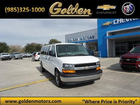 2017 Chevrolet Express Passenger for sale in Cut Off, LA