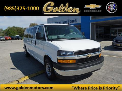 2018 Chevrolet Express Passenger for sale in Cut Off, LA